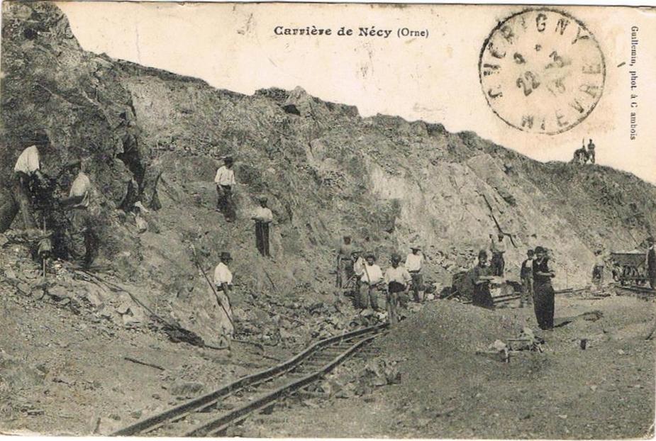 Carrière de Nécy
