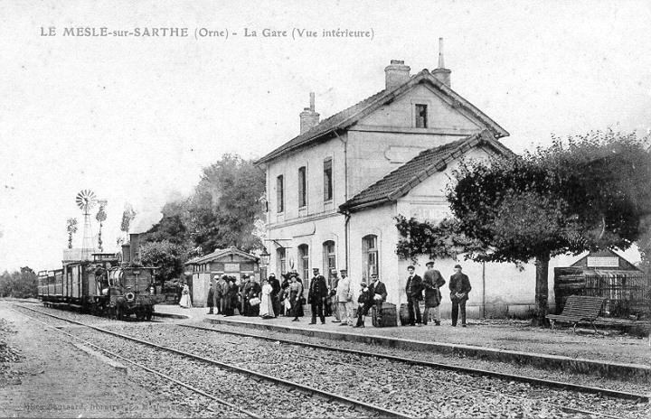 Gare du Mesle sur Sarthe