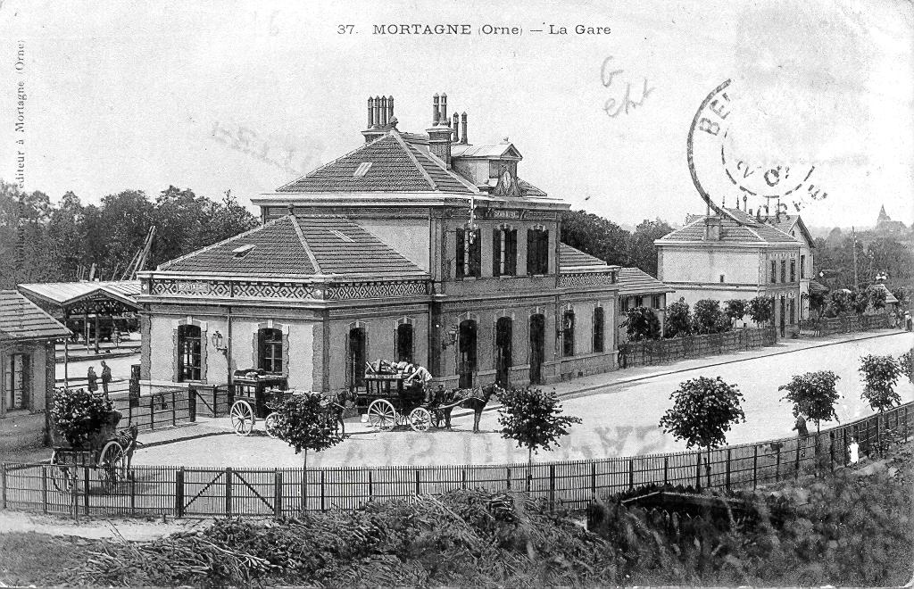 Gare de Mortagne au Perche