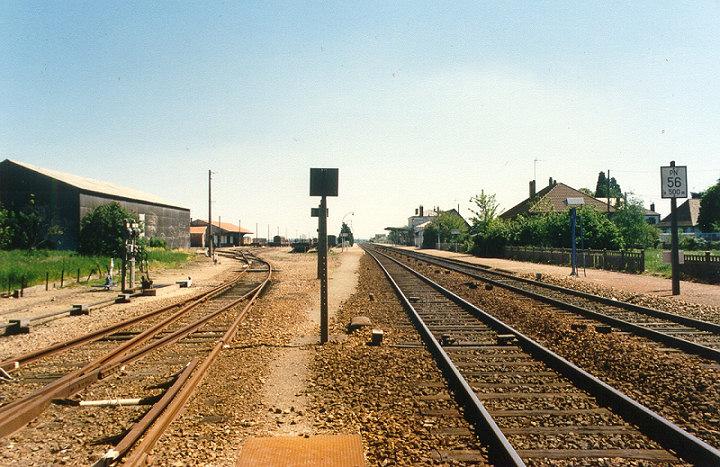 Quel intérêt a cette photo de voies à Verneuil/Avre ?