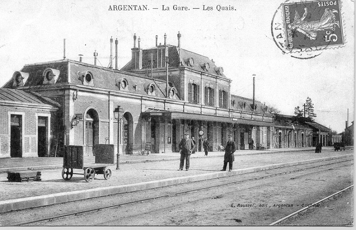 Gare d'Argentan