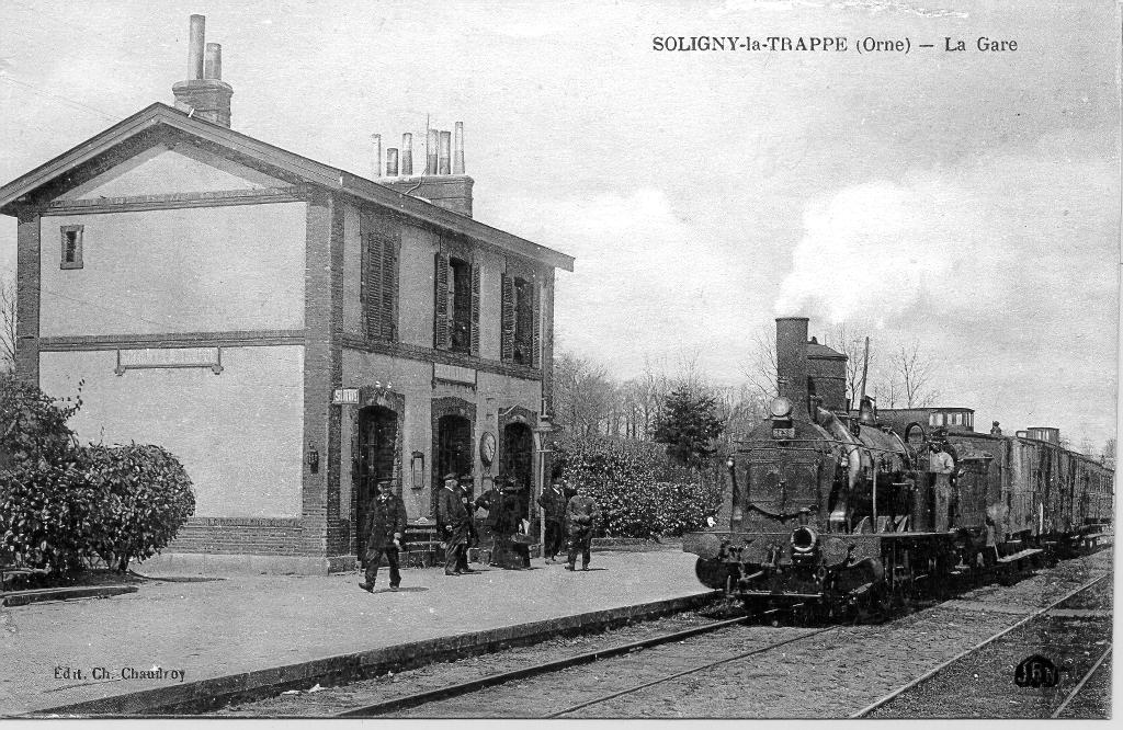 Gare de Soligny la Trappe