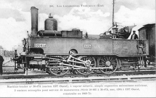 1397 Ouest -  Série 1384/1397 Ouest - 30-061/074 Etat