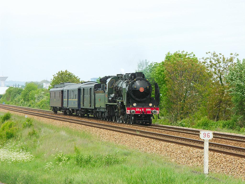 231 G 558 - Argentan - 17/05/2006