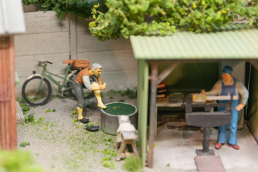 La graniterie - Michel Lecoursonnais -Echelle Oe - Fin de journée