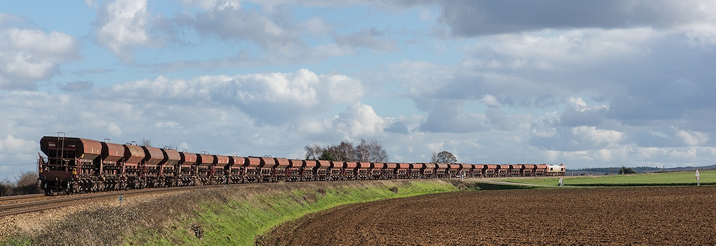 Class 77 77503 VFLI - Pertheville-Ners - 21/02/2014