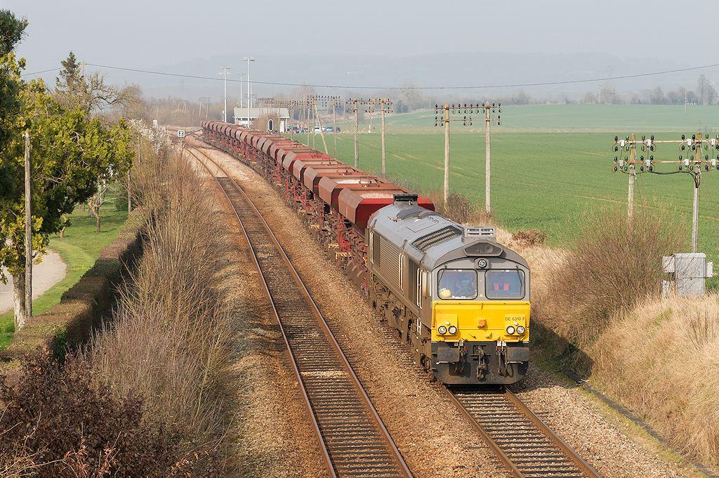 Class 77 DE6310 F - L'Oraille - 14/03/2014
