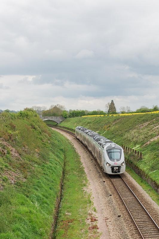 B 84561 L - Serans - 25/04/2014 - Formation conducteurs - Versailles-Granville
