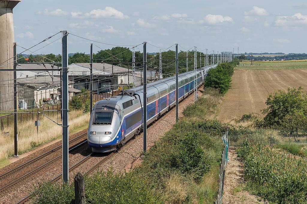 TGV EuroDuplex 4703 - Ingrandes sur Vienne - 05/08/2014