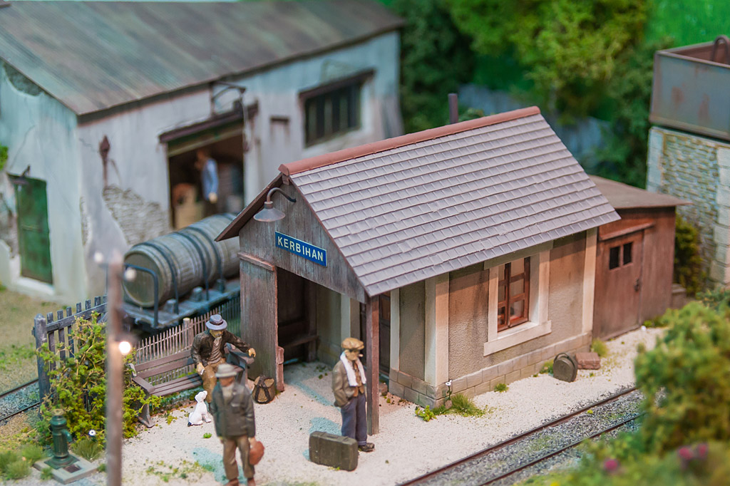 Village de Kerbihan - Michel Lecoursonnais (Oe)  - La gare