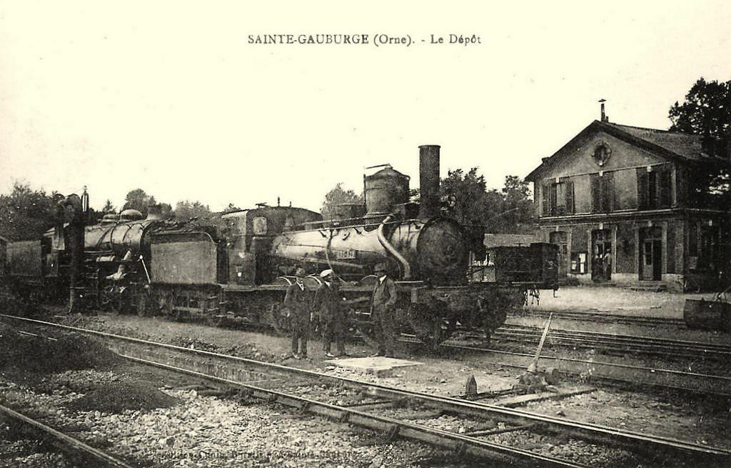 Dépôt de Ste Gauburge