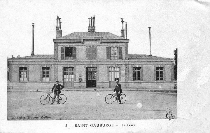 Gare de Ste Gauburge