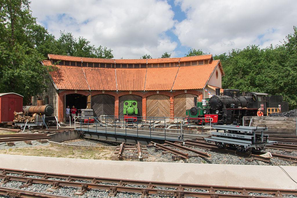 Rotonde - Rillé - 14/07/2017 - Chemin de fer du lac de Rillé - A E C F M