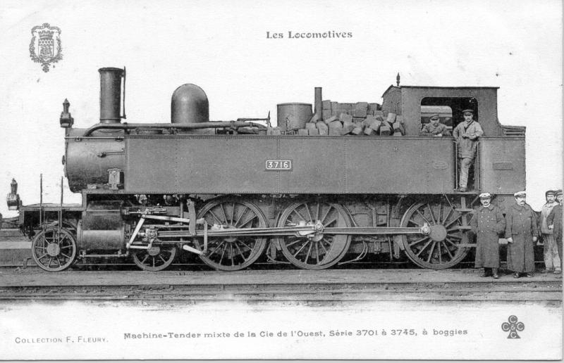 3701/3745 Ouest - 32-001/045 Etat - 230 TA 1/45 SNCF