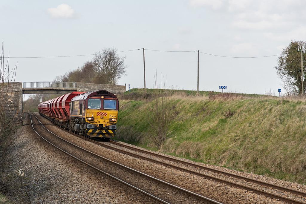 Class 66 66209 ECR - Vignats - 26/03/2019