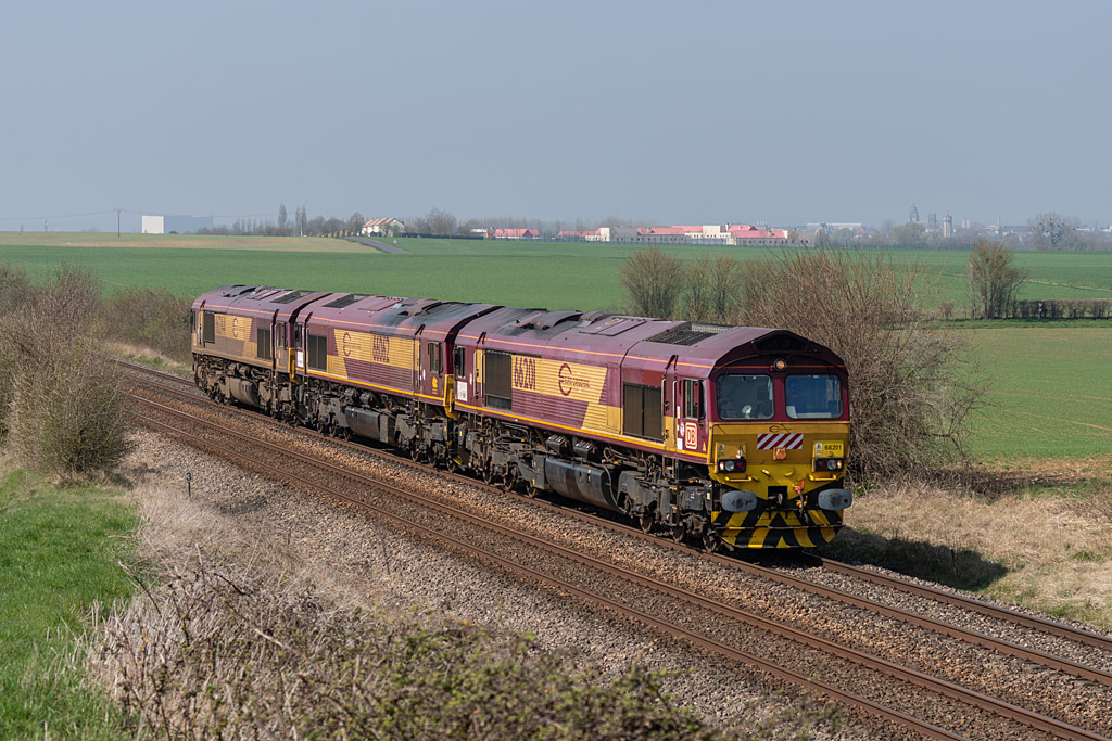TM Class 66 - Argentan - 01/04/2019