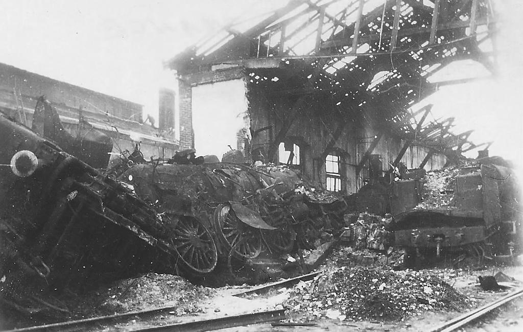 Dépôt d'Argentan - Août 1944