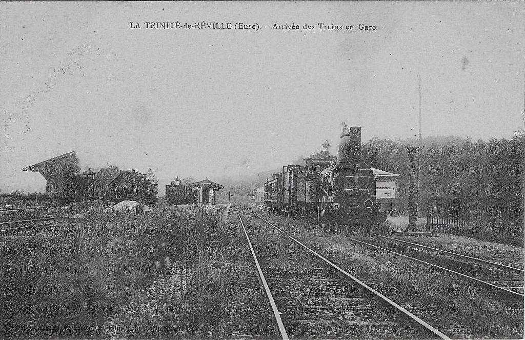 Gare de la Trinité de Réville