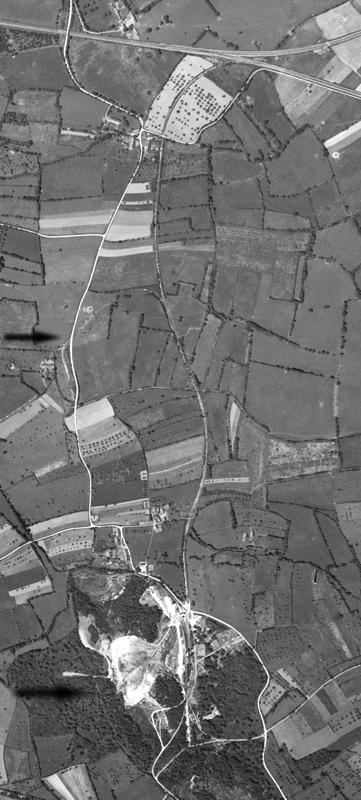 Carrière du Bois Maheux - Situation en  1947