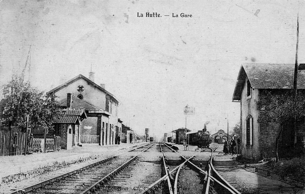 Gare de la Hutte-Coulombiers
