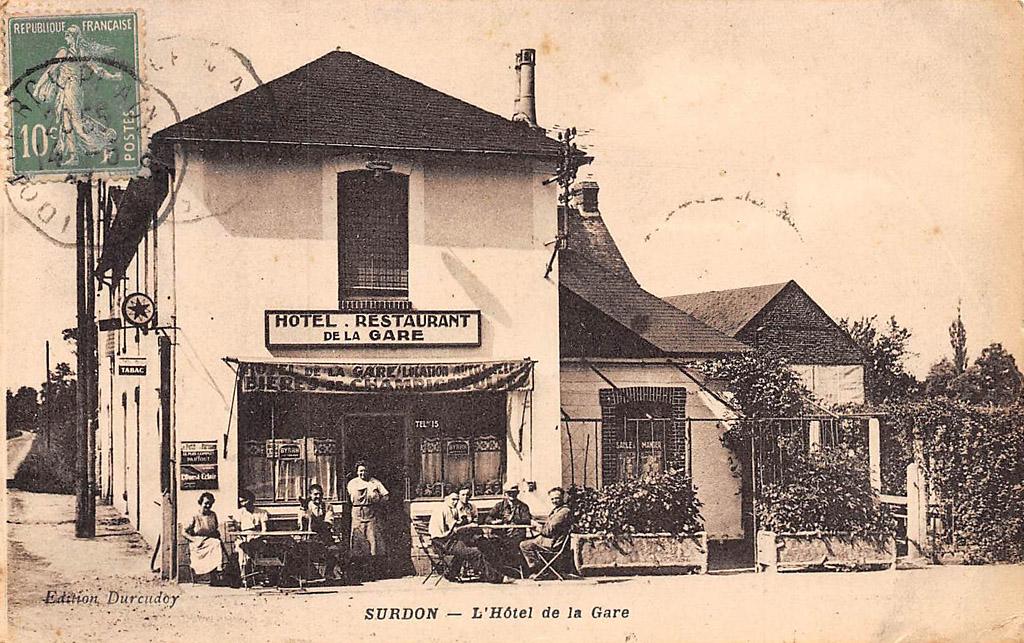 Hôtel de la Gare de Surdon