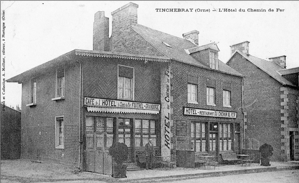 Hôtel du Chemin de Fer de Tinchebray