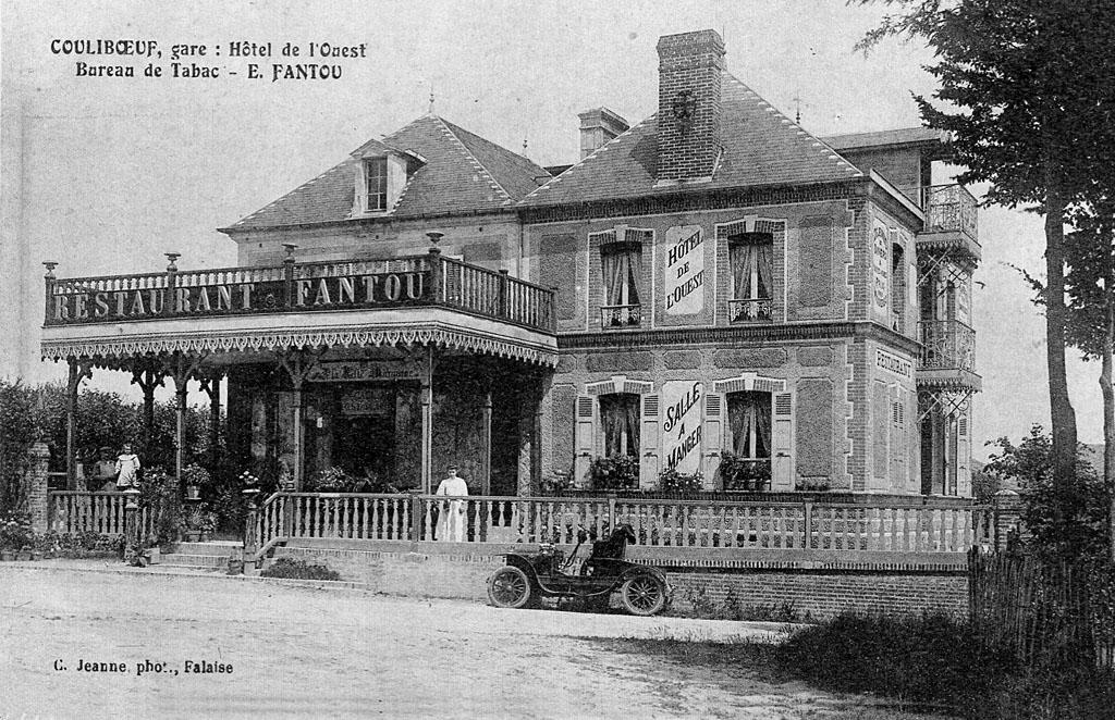 Hôtel de l'Ouest de Couliboeuf