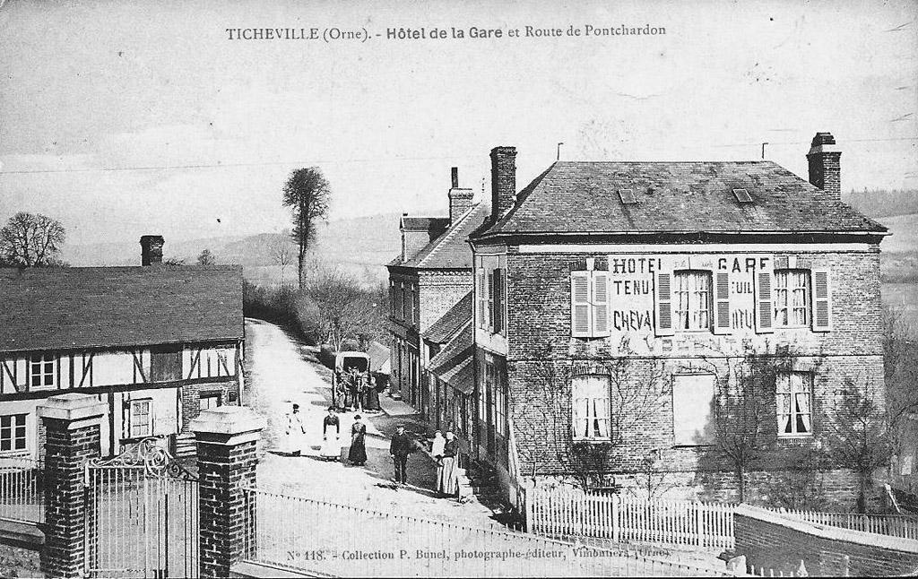 Hôtel de la Gare de Ticheville