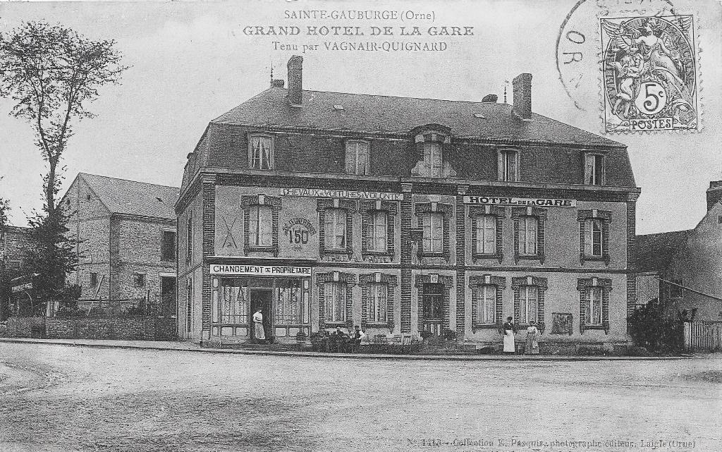 Hôtel de la Gare de Ste Gauburge