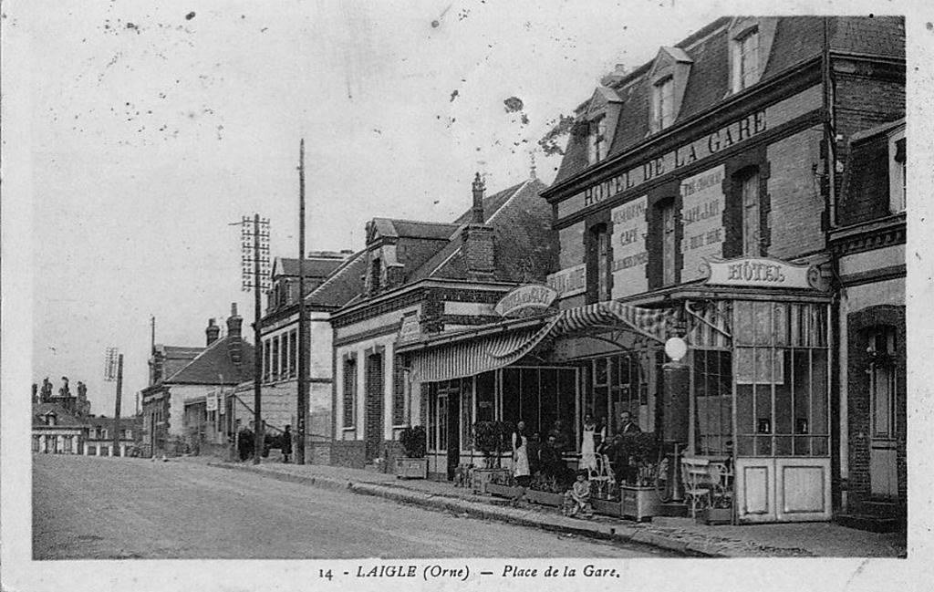 Hôtel de la Gare de L'Aigle (Pays d'Ouche)