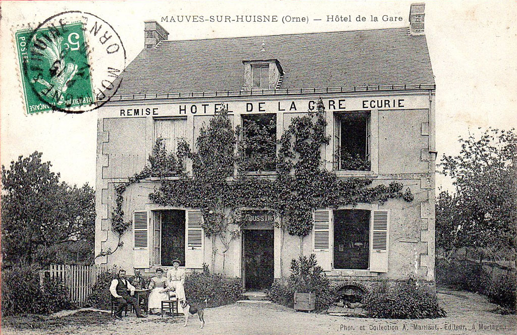 Hôtel de la Gare de Mauves sur Huisne