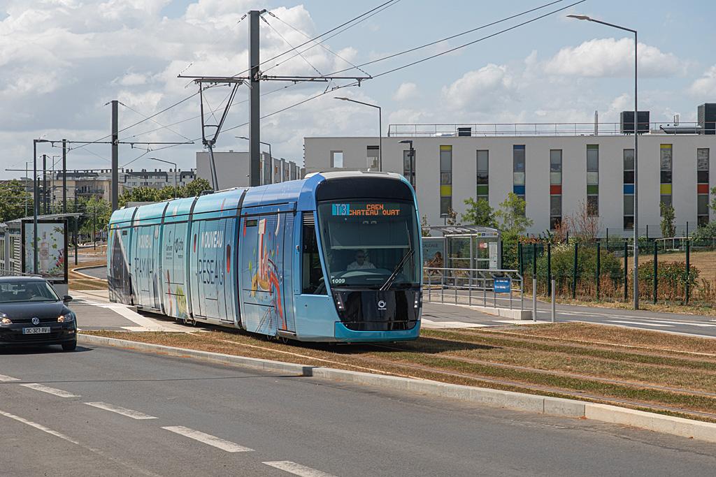 Ligne T3 - Station Rostand-Fresnel - Rame 9