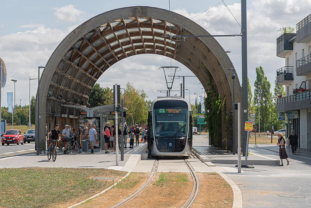 Ligne T1 - Station Jean Vilar- Rame 2