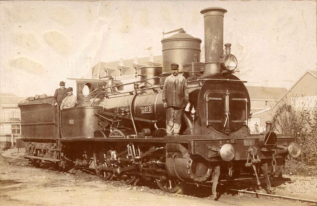 2073 Ouest - Flers de l'Orne - 1904/2244 Ouest - 030-531/860 Etat - 030 C 531/860 SNCF