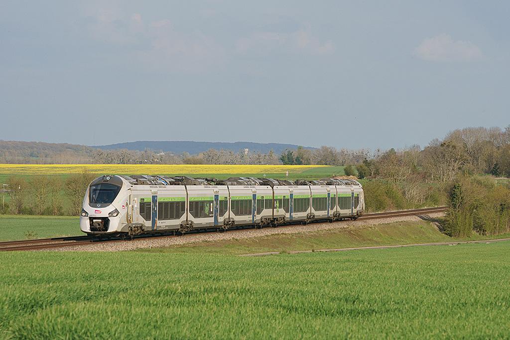 B 84575 L - Argentan - 20/04/2021 - Train 3427 - Paris-Granville