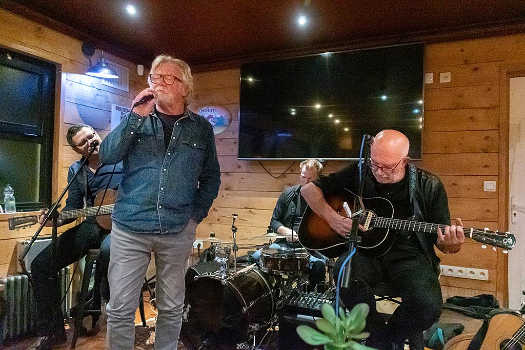 Jean-Christophe, Laurent, Olivier et Terry Scott - Ouistreham - 01/10/2021