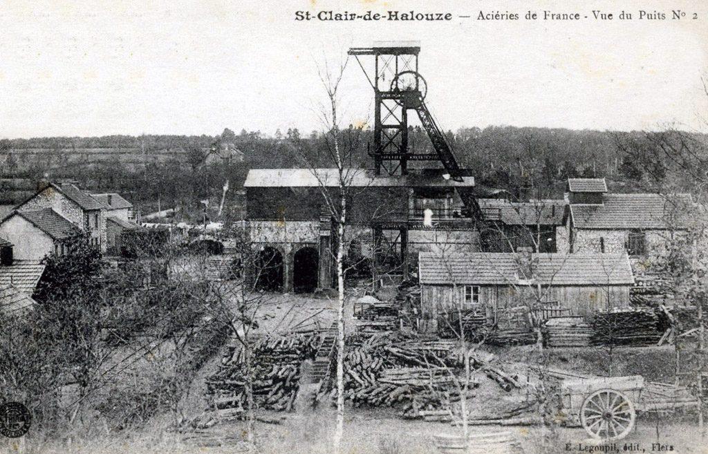 St Clair de Halouze - Puits n° 2