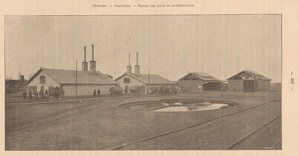 Chantier de Surdon en 1905