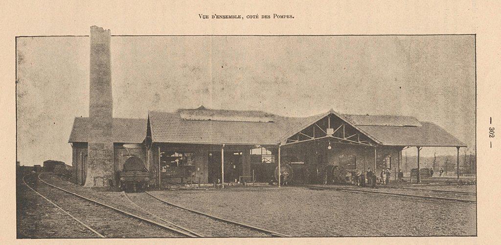 Atelier de créosotage de Surdon - 1905