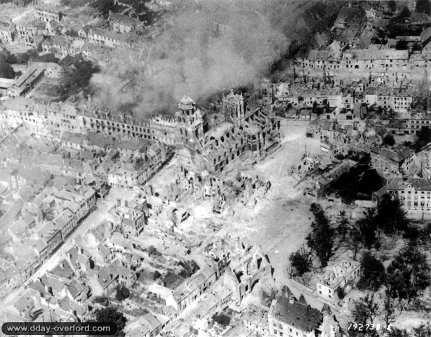 Ruines d'Argentan - 1944