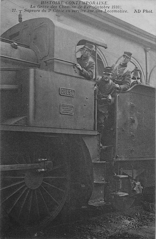 Grève des cheminots de 1910