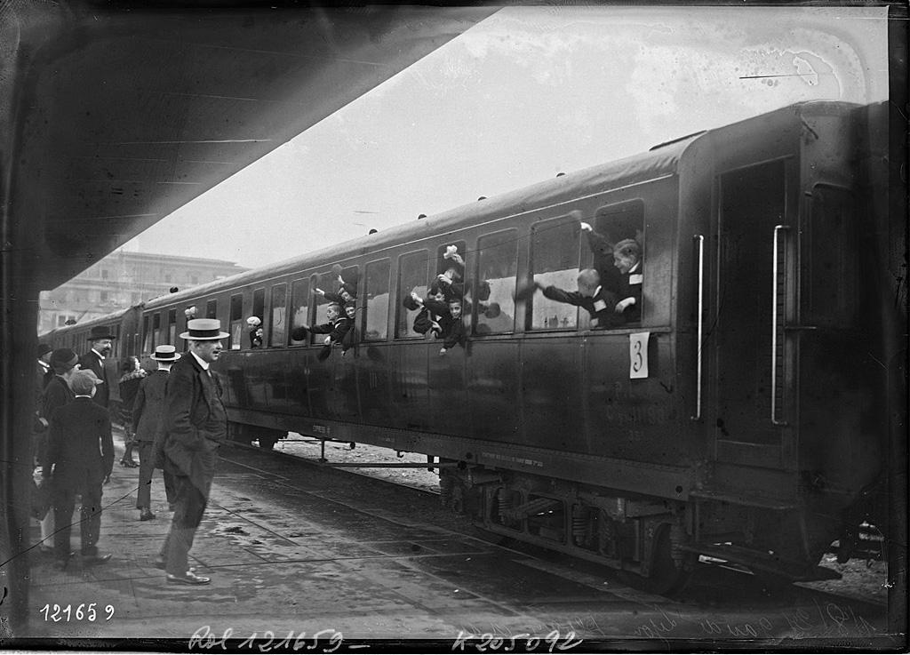 Départ gare de Lyon à Paris- 01/08/1927