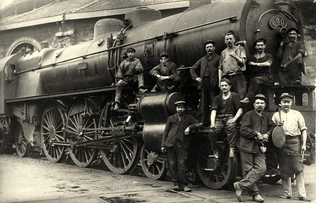 Locomotive de type 231 - Série 2901/2902 Ouest puis 6001/6002 Etat - 231-001/002 Etat