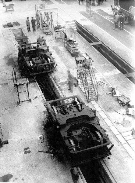 Bogie Y211 pour A1A-A1A 68000 -  Ateliers Quatre-Mares - Sotteville -  © GAQM/Lemaure