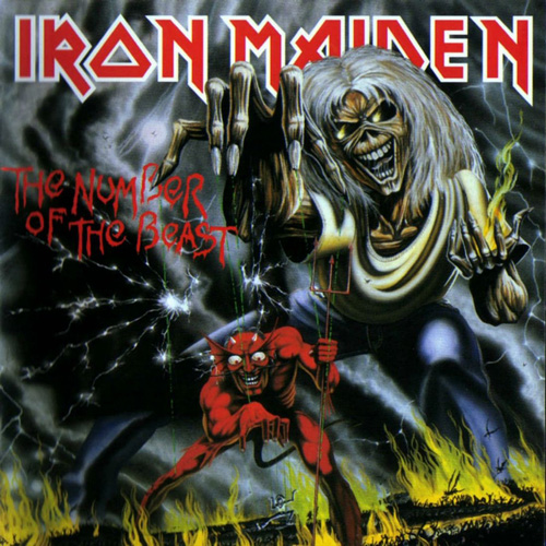 The Numbers Of The Beat - Iron Maiden