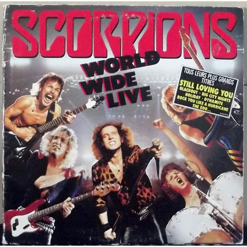 Word Wide Live - Scorpions