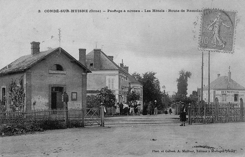 Passage à niveau - Condé/Huisne