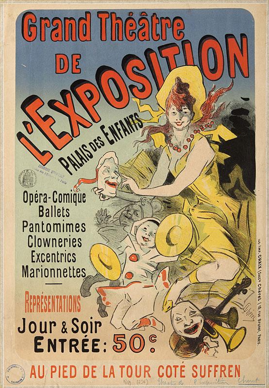 Affiche de Jules Chéret
