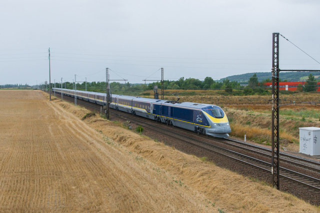3016/3015 Eurostar - Dangé-St Romain - 28/07/2015