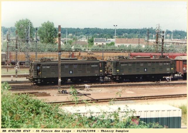 BB 4767/BB 4745 - St Pierre des Corps - 01/08/1994